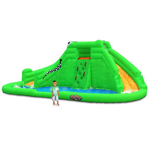 Blast Zone Crocodile Isle Dual Water Slide