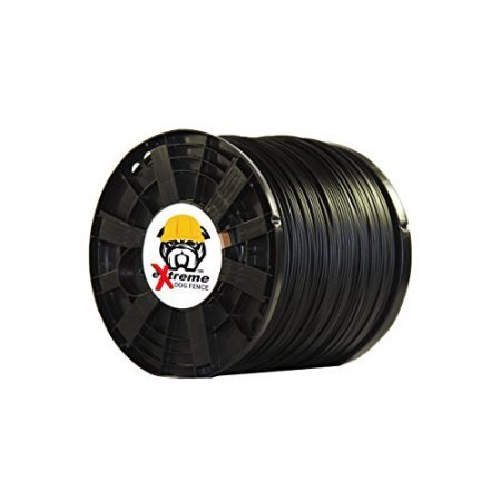 14 Gauge 2500 Foot Continuous Spool of eXtreme Dog Fence Brand Electric In-Ground Dog Fence Wire Ground Electric Fence