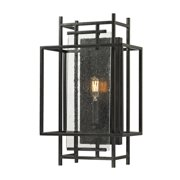 Elk Intersections 1 Light Wall Sconce In Oil Rubbed Bronze 14200/1