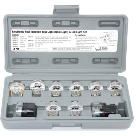 - JEGS Performance Products W89501 Noid Light Test Kit GM Bosch Ford & Geo Include
