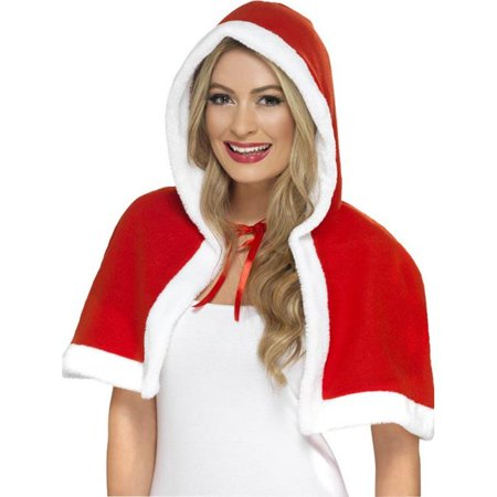 Santa Claus And Miss Claus (Miss Claus Mini Cape)