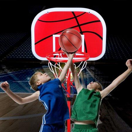 Hanging Mini Basketball Netball Hoop For Indoor Outdoor Kids Game ... c75589b583f
