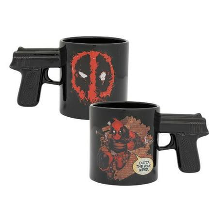 Vandor LLC Marvel Deadpool 20 oz. Sculpted Ceramic Mug - Deadpool Cosplay Buy