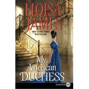 My American Duchess (Paperback)(Large Print)