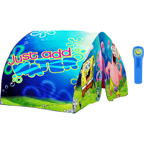 Spongebob Squarepants Bed Tent Yellow  sc 1 st  Walmart & Spongebob Squarepants Bed Tent Yellow - Walmart.com