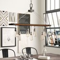 Williston Forge Baez 7-Light Rectangle Chandelier