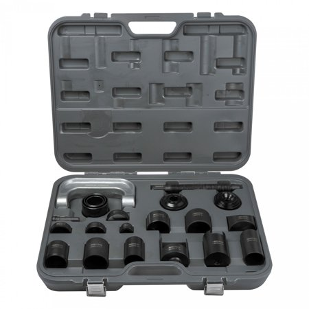 - Neiko 21pc Ball Joint Press Tool & Adapter Set | C-Frame GM Ford Dodge Repair Kit