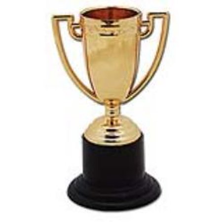 SMALL GOLD TROPHIES (ONE DOZEN)](Small Trophy)