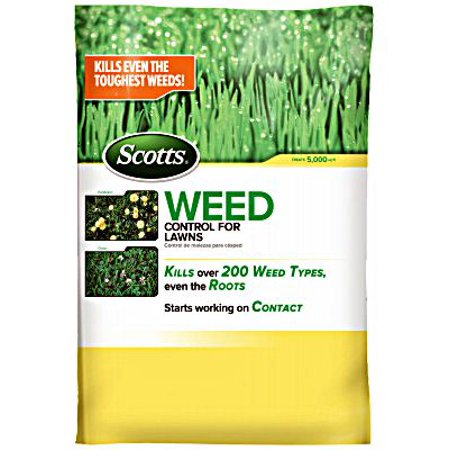 1PK-Scotts 49801C Control Weed Lawn 5000 Sq Ft