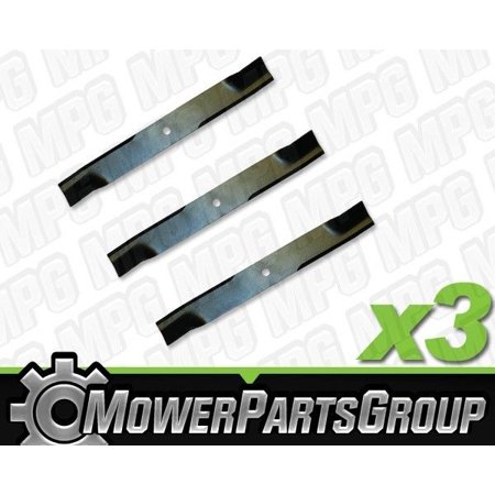 D607 (3) Pack of Blades Fits John Deere 110 112 200 300 with 38