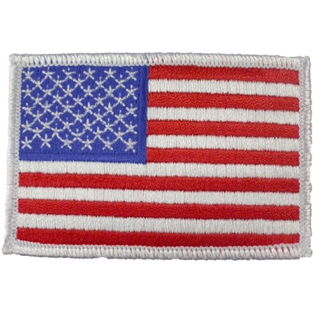 American US Flag Patch White (Misc Patches)