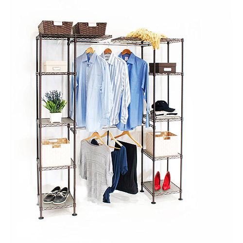 Seville Classics Expandable Closet Organizer, SHE05814B