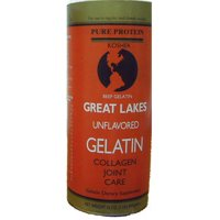 Gelatin-Kosher/Unflavored Beef-Type B Great Lakes 1 lbs Powder