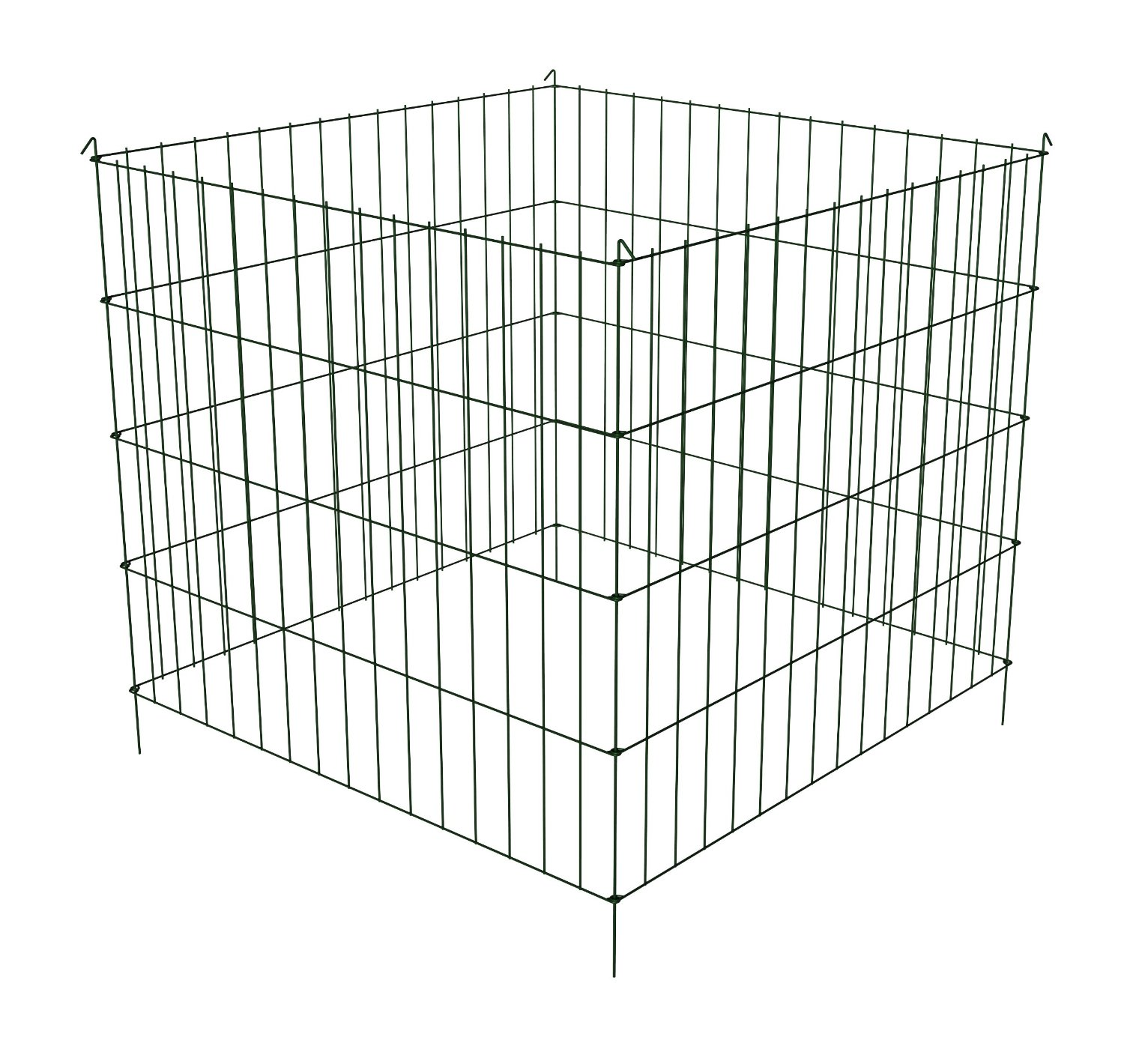"Panacea 89560 Wire Compost Bin, 30"" H x 36"" W x 36"" D by Panacea Products"