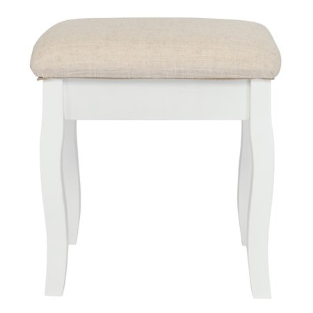Zimtown Dressing Stool Padded Chair Makeup Piano Seat With Cushioned Chair ()