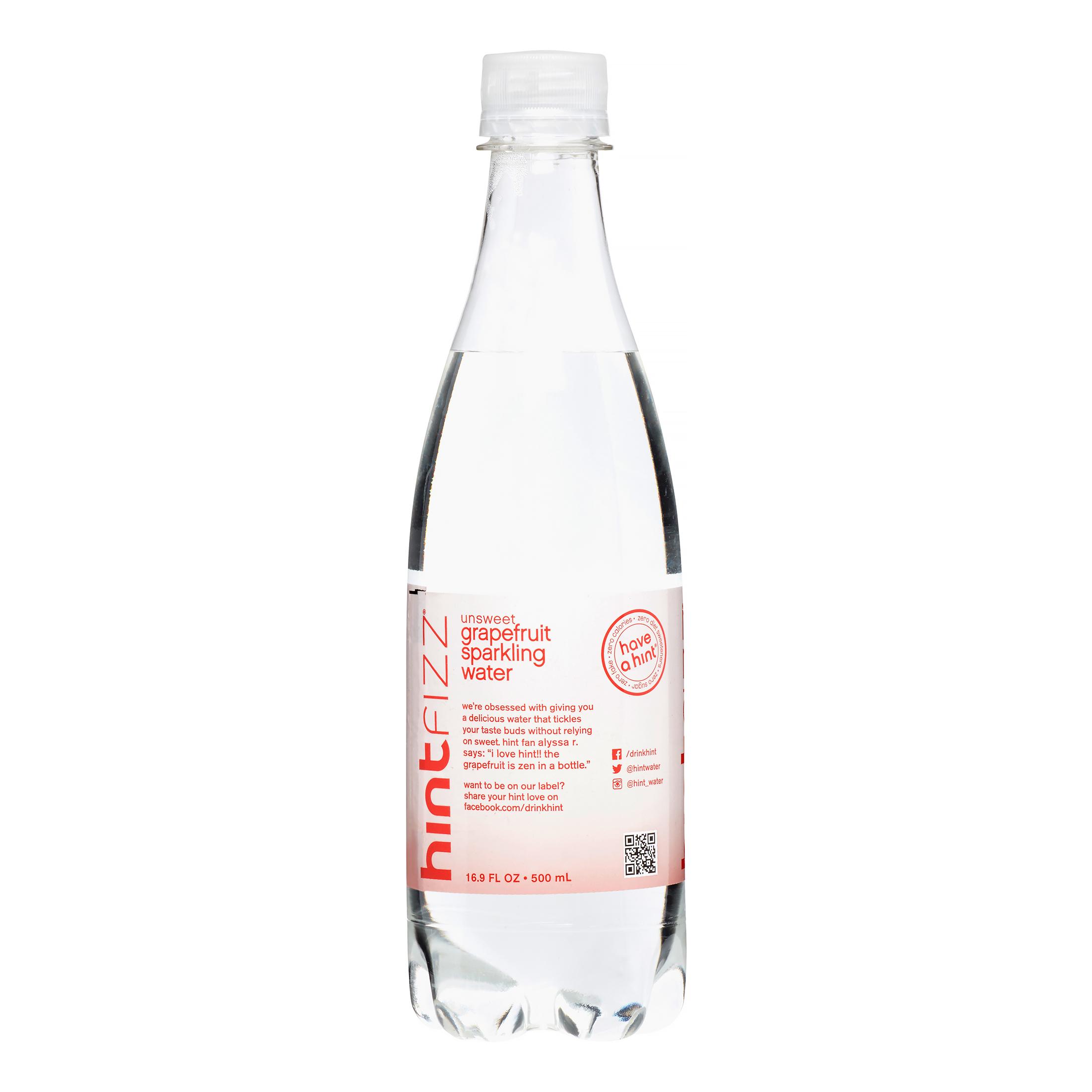 Hint Fizz Sparkling Water, Grapefruit, 16 Fl Oz by Sparkling Water