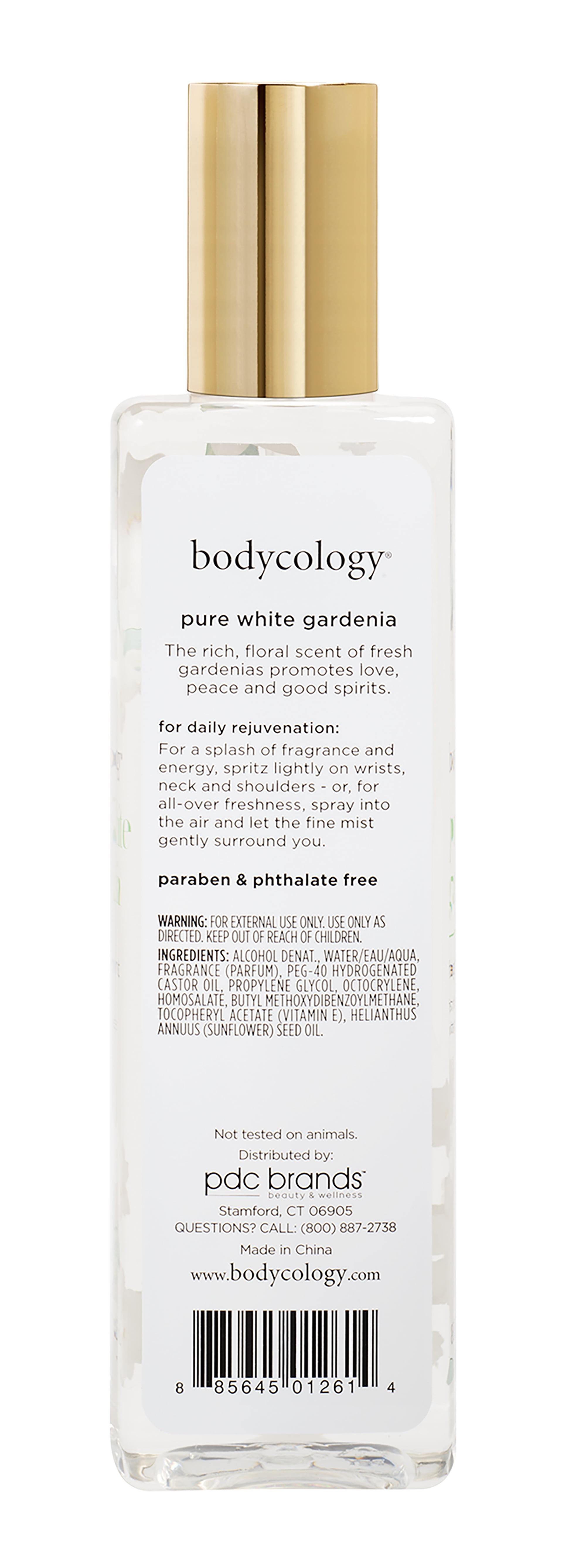 Bodycology Bodycology Pure White Gardenia Fragrance Mist Spray for Women 8  oz