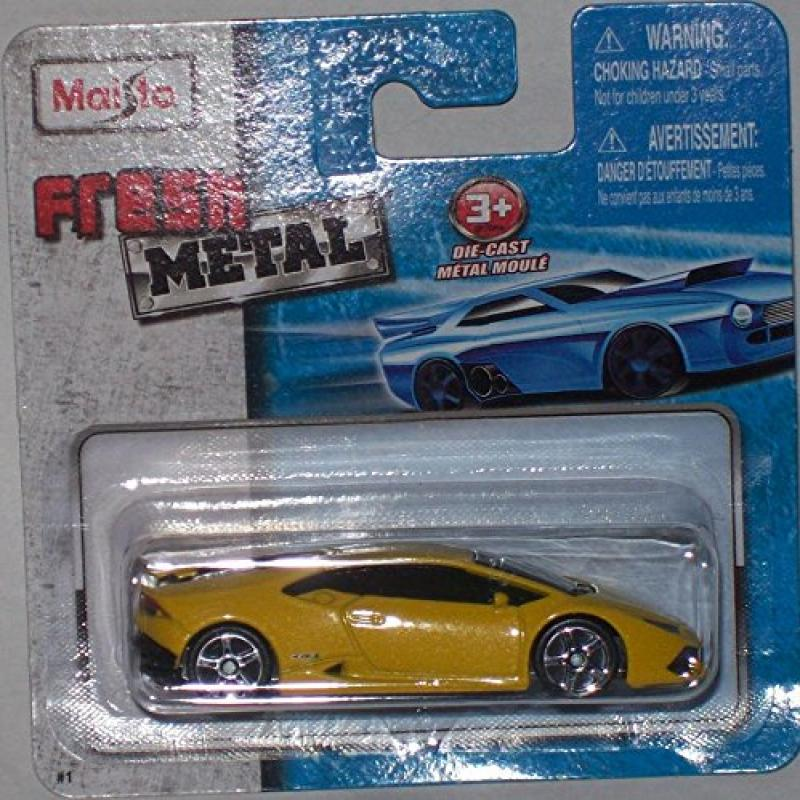 Maisto Fresh Metal Die-Cast Vehicles ~ Lamborghini Huracan LP 610-4 (Yellow) by
