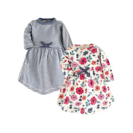Organic Long Sleeve Dresses, 2-pack (Toddler Girls)