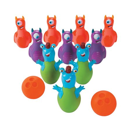 Halloween Monster Bowling - Halloween Bowling Game With Cats