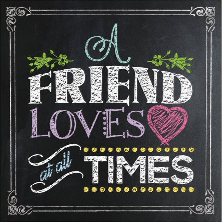 A Friend Loves at All Times (Friends Love At All Times Bible Verse)
