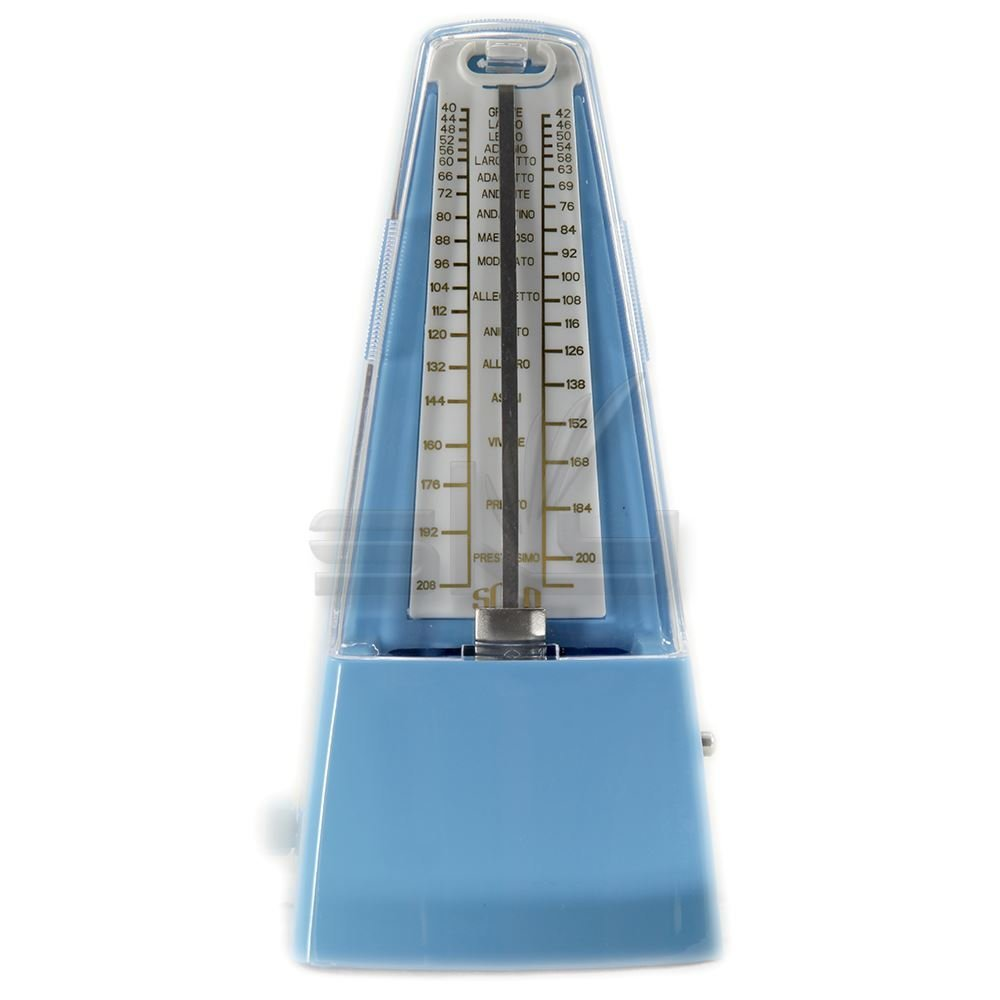 High Quality New Style SOLO SOLO350 Mechanical Metronome Blue Color by Solo