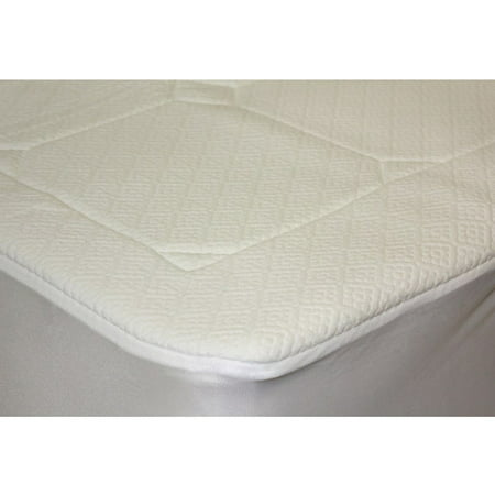 Pur-Rest Quilted Memory Foam Mattress Pad - Pur-Rest Quilted Memory Foam Mattress Pad - Walmart.com