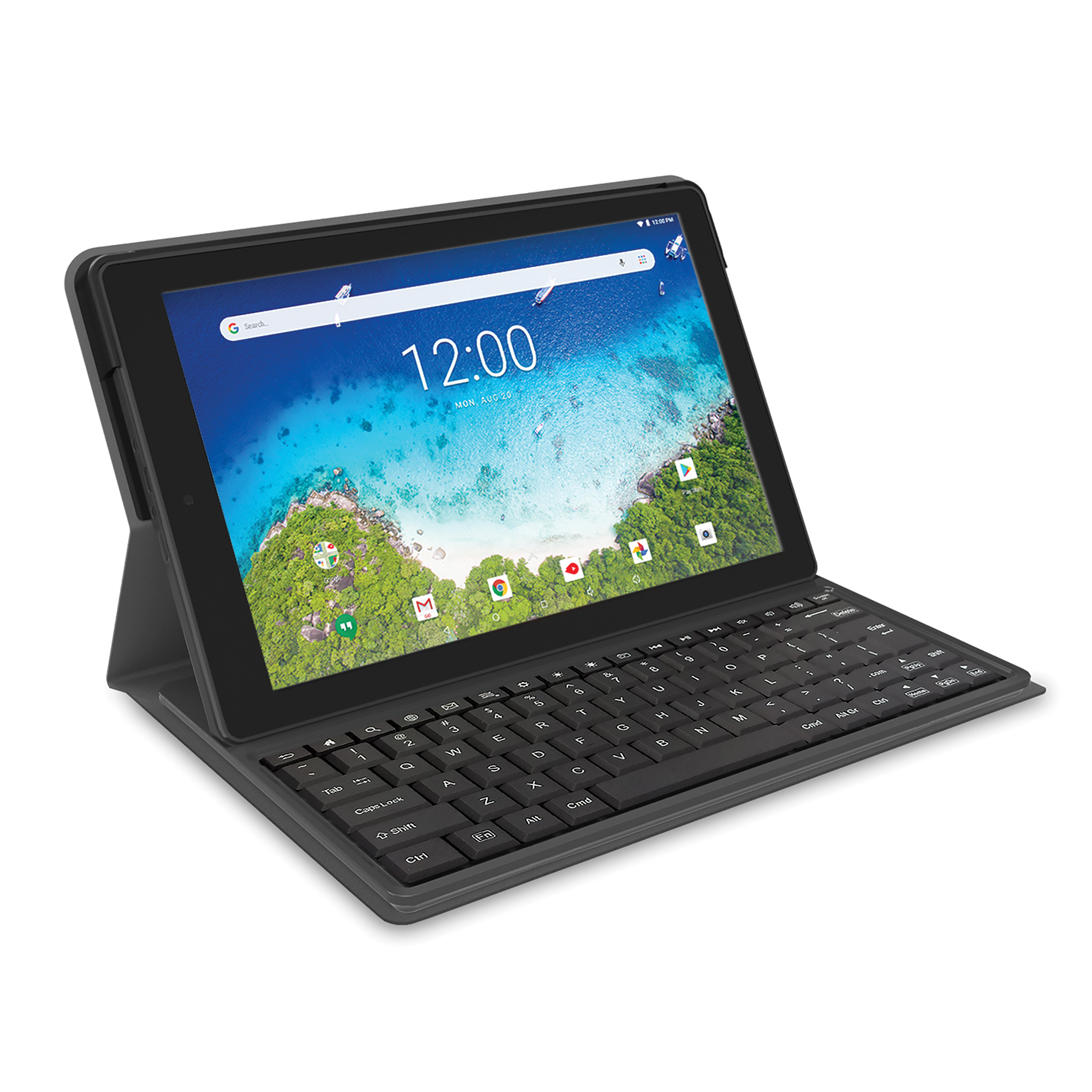 """RCA 10.1"""" Android (8.1 Go Edition) 2-in-1 Tablet with Folio Keyboard"""