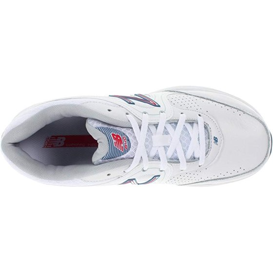 b13c131aa150b ... you'll appreciate the added comfort you get from top-quality shoes.. New  Balance Women's WW840 Health Walking Shoe, White/Pink, 8 D US