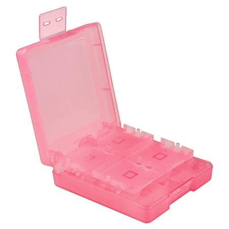 Insten For Nintendo NEW 3DS / DS / DS Lite / DSi / DSi LL / XL Game Card Case 16-in-1, Light Coral - image 1 de 10