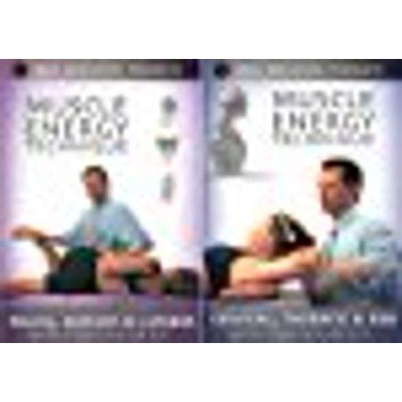 Massage Video (Muscle Energy Techniques Medical Massage Video 2 DVD Set - Volume 1 Pelvis Sacrum & Lumbar Back, Volume 2 Cervical)