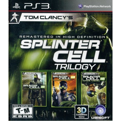 Tom Clancy Splinter Cell Classic Trilogy (PS3)