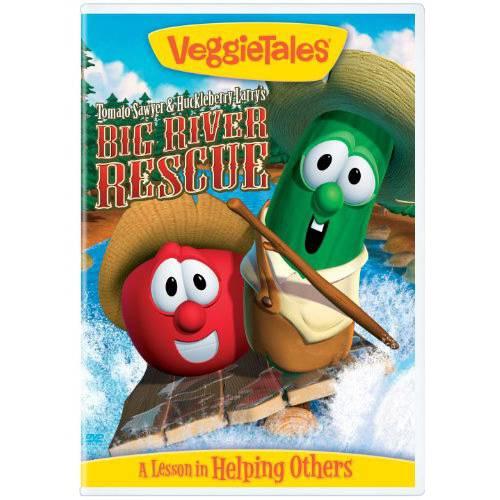 Veggie Tales: Tomato Sawyer & Huckleberry Larry's Big River Rescue (Blu-ray) (Full Frame)