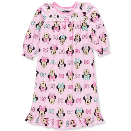 Disney Minnie Mouse Girls' Nightgown (Disney Nightgowns For Girls)