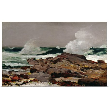 Great BIG Canvas | Rolled Winslow (1836-1910) Homer Poster Print entitled Eastern Point, 1900