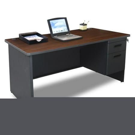 Marvel Pronto Single Pedestal Desk - 60W x 30D