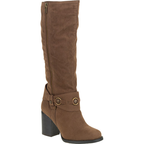 Laundry List Women's Heather Decorated Harness Boot