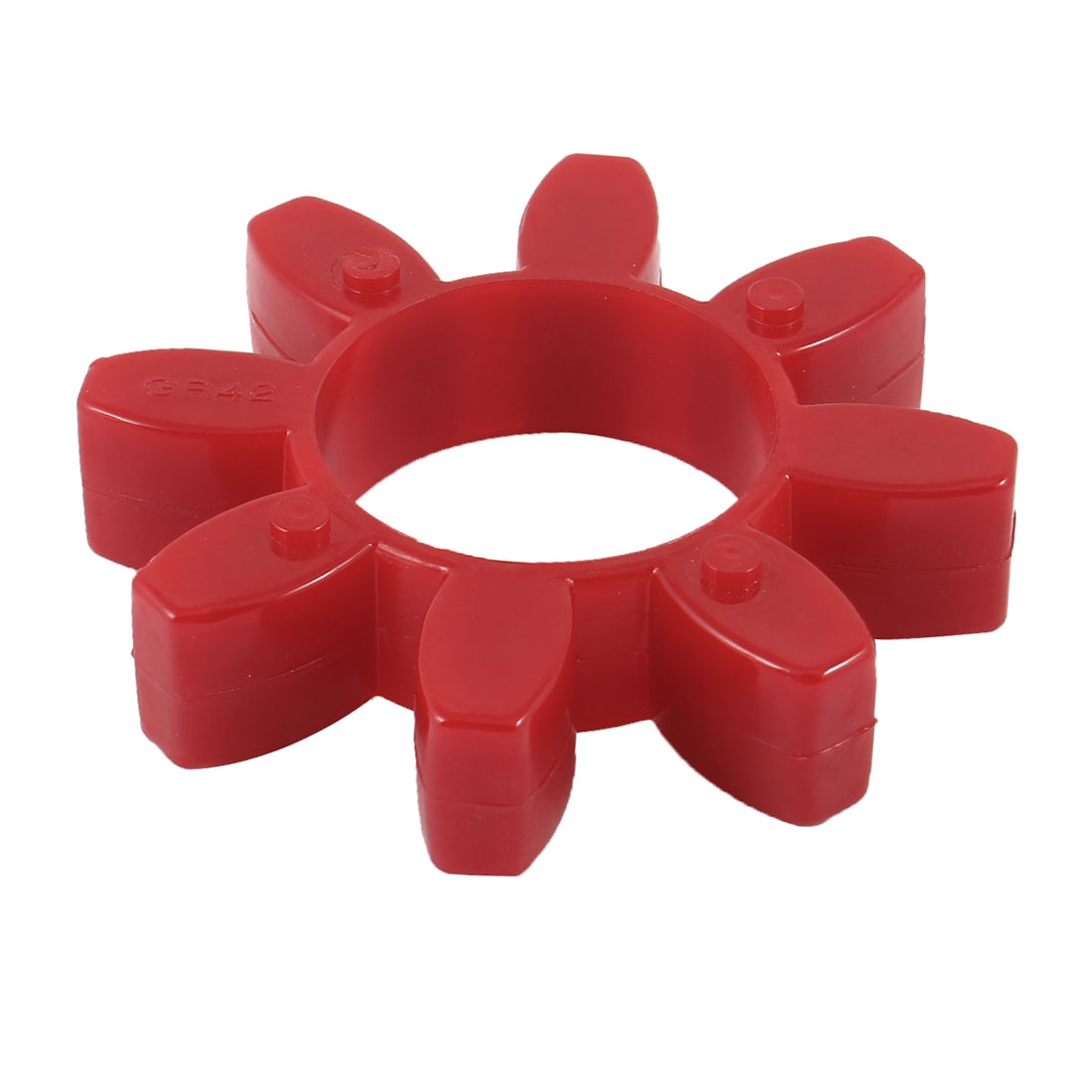 Unique Bargains 94mm x 22mm Red Polyurethan PU Drive Shaft Coupler Damper