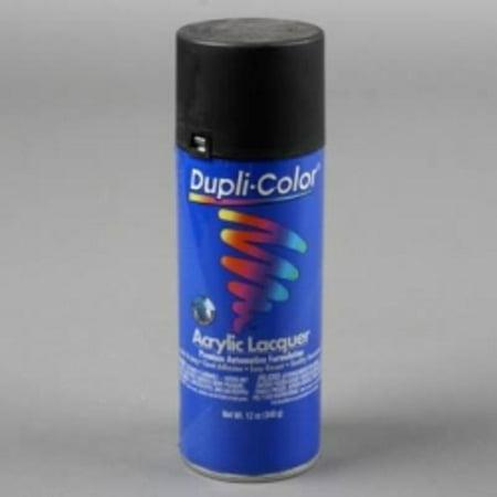 Krylon DAL1608 Dupli Color General Purpose Lacquer Semi-gloss Black 12 Oz. Aerosol