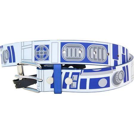 Star Wars Logo Belt (Star Wars R2-D2 Robot Droid White and Blue)