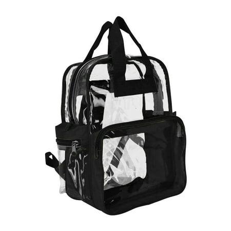 7d641e2cf1 DALIX - DALIX Clear Backpack for School Transparent Bags Girls Boys Clear  12 Pack - Walmart.com