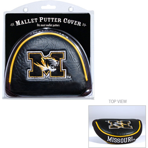 Team Golf NCAA Missouri Golf Mallet Putter Cover
