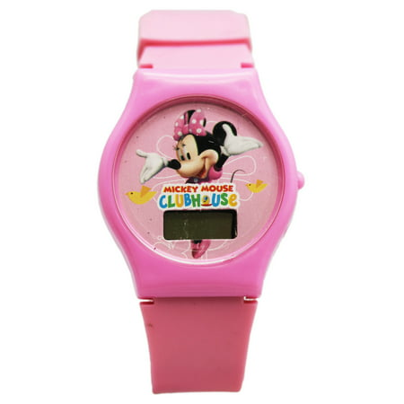 Disney's Mickey Mouse Clubhouse Minnie Mouse Pink Kids Digital Watch