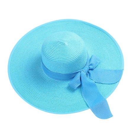 Straw Hats For Women - Women's Hamptons Floppy Straw Hat