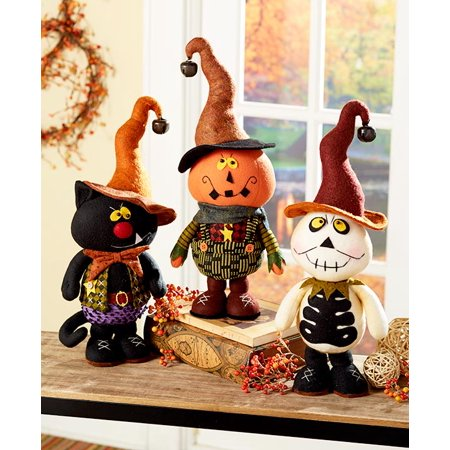 Primitive Halloween Decorations (Primitive Fall Halloween Thanksgiving Autumn Decoration Country Home Figurine Kids)