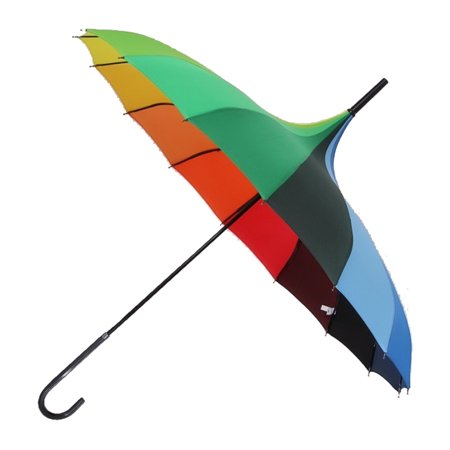 Peak Shaped Umbrella Wedding Parasol Bridal Umbrella Windproof - Umbrellas For Weddings