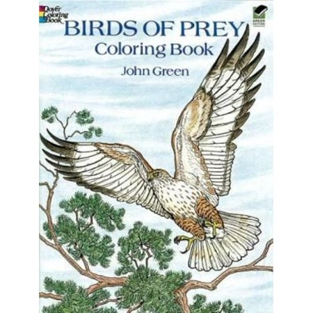 Birds of Prey Coloring Book