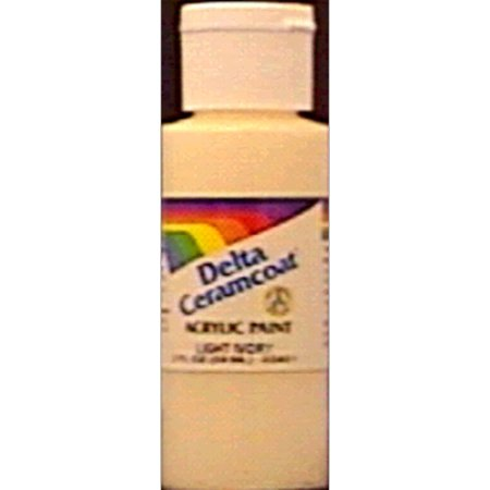 2 fl oz Acrylic Craft Paint Pretty Pink - Delta Ceramcoat