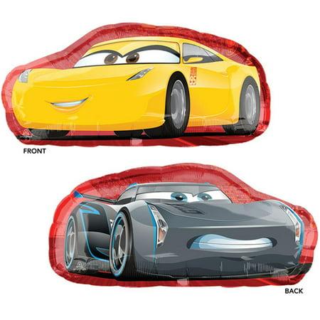 Disney Car Super Shape Cruz jackson Foil Balloon 35