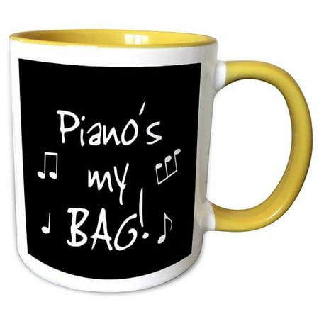 Symple Stuff Irish Piano Is My Bag Fun Music Student Pianist Musician Gift  Coffee Mug